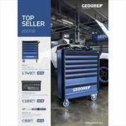 Gedore Topseller 2018 Promotion