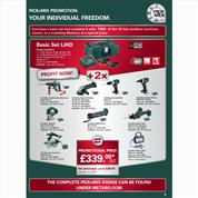 Metabo Mix & Match Offer May 2017