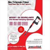 New Stocked Product - Bessey Gearklamps