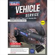Sealey Vehicle Service Promotion 2018