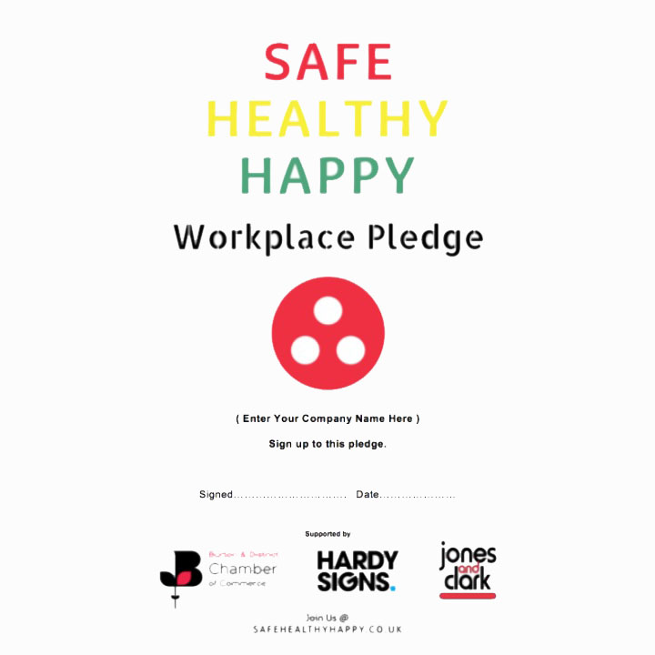 Safe Healthy Happy Pledge