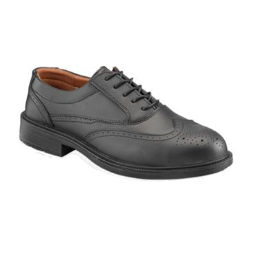56fa09fd556 City Knights Ss500cm Size 8 s1p/src Black Executive Brogue Safety ...